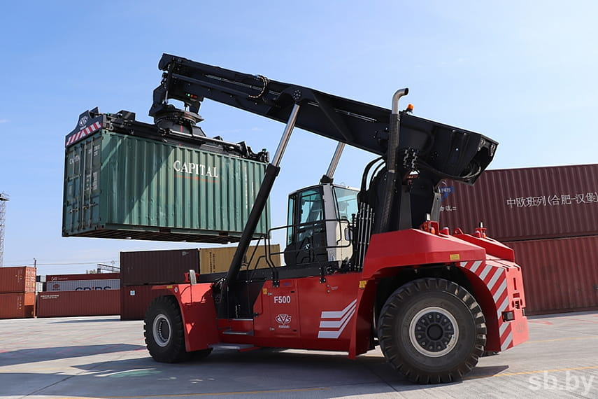Терминал Брест-Северный БЖД после модернизации может перерабатывать в полтора раза больше контейнеров