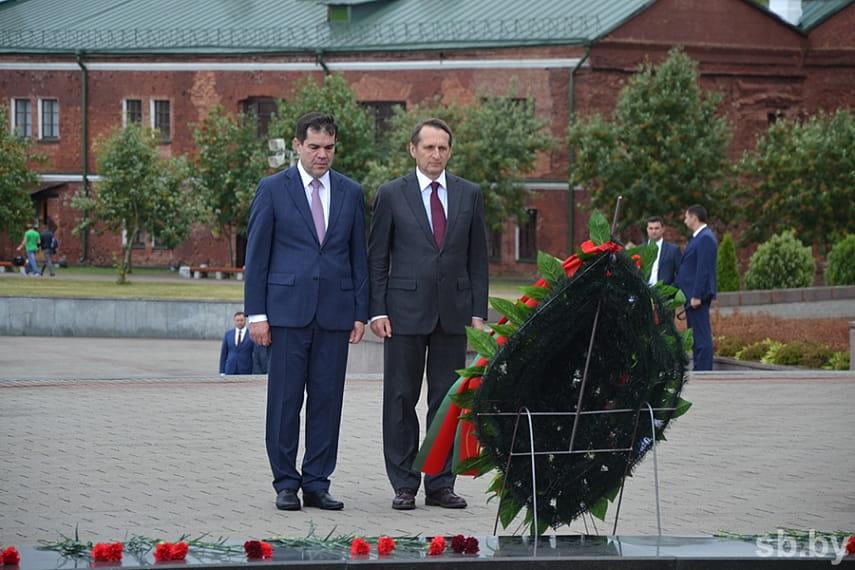 В Бресте прошло заседание совместной коллегии КГБ Беларуси и Службы внешней разведки России
