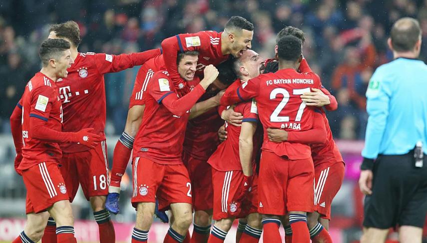 Бавария футбол история