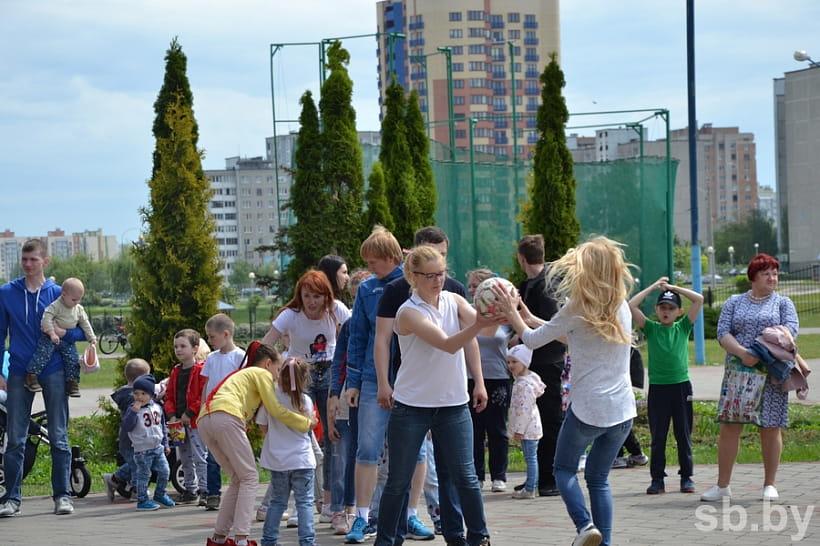 В Бресте прошла игровая спартакиада многодетных семей
