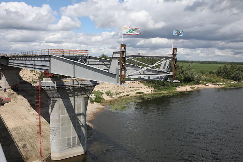 Объездная гомель мост открытка