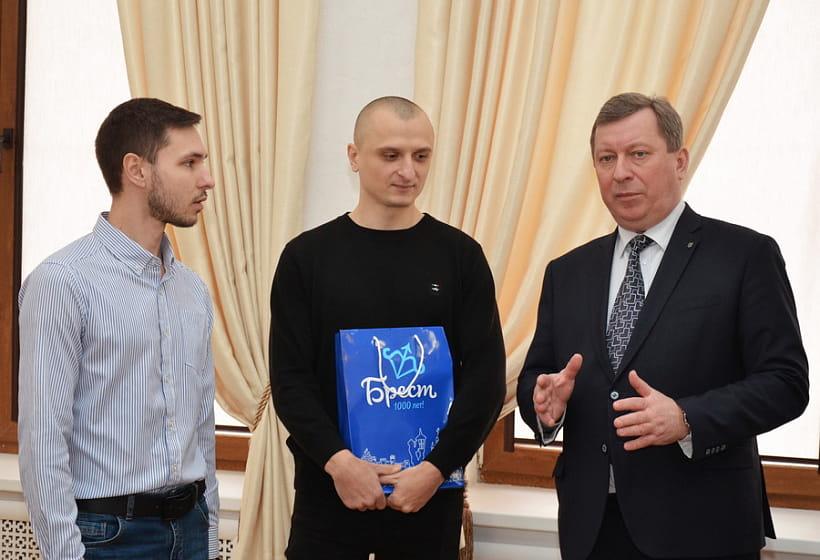 В Бресте наградили авторов логотипа «Брест - культурная столица СНГ-2019»