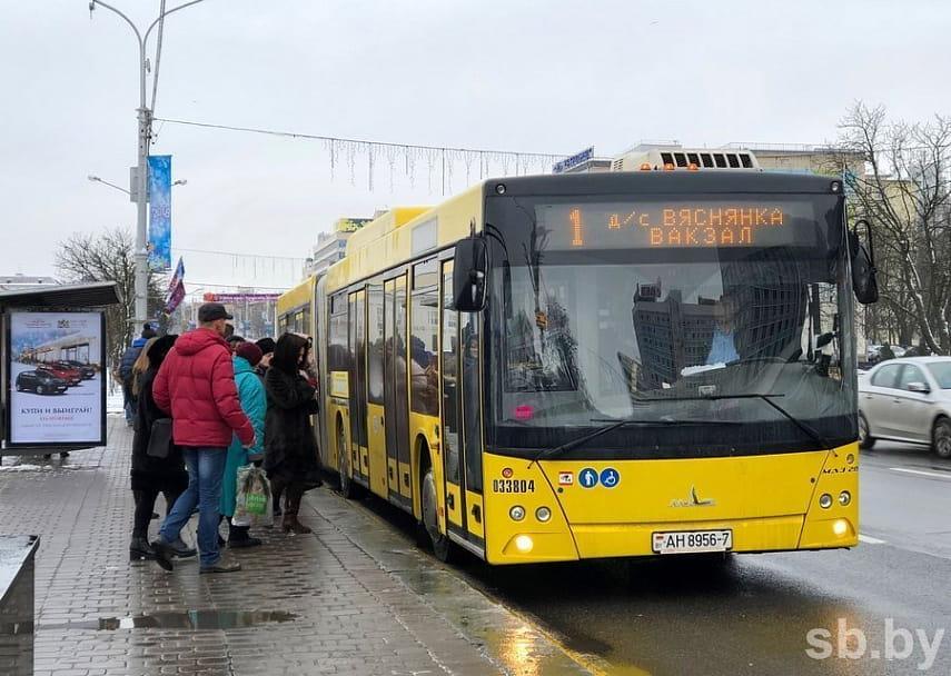 f31cdac138b55 Некоторые маршруты общественного транспорта в Минске будут отменены 1 января
