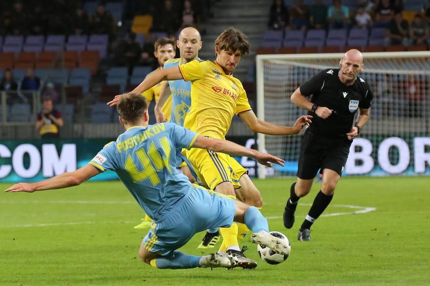 Футбол бате боруссия счет