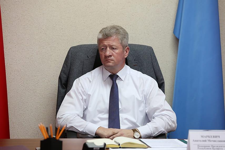 Помощник Президента — инспектор по Брестской области Анатолий Маркевич изучил положение дел на РУПП «Березатара»