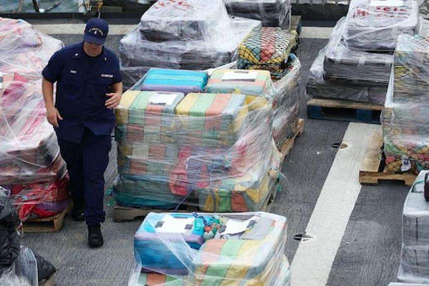 ВСША изъяли кокаина насумму в млрд.  долларов